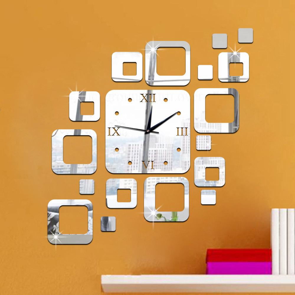 Zrcadlové hodiny Ètverce