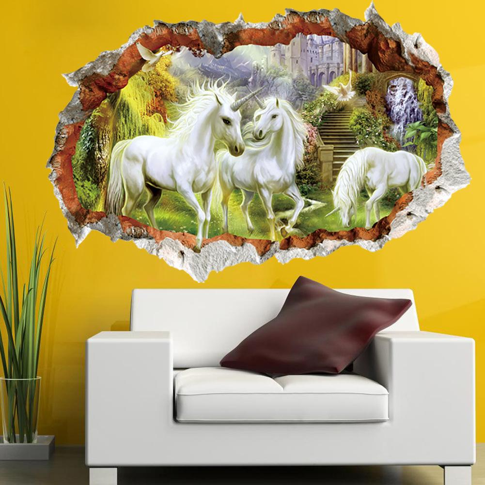Jednorožci ve zdi - zvìtšit obrázek