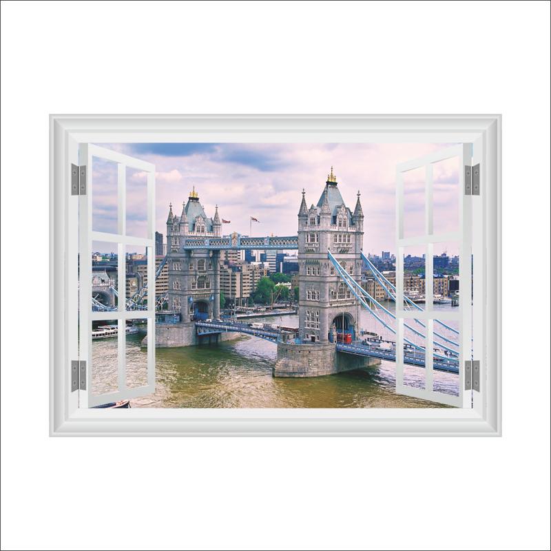 Tower Bridge v oknì - zvìtšit obrázek